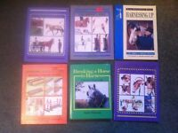 EQUESTRIAN BOOKS FOR SALE - OPEN TO OFFERS
