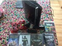 Up Graded PS3 250 GB with 2 Controllers, PS Move and 6 Games