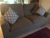 Two sofas for sale. One two seater, the other a three seater.