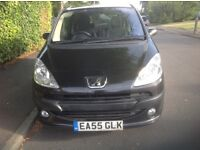 55 REG PEUGEOT 1007 1.4 ELECTRIC SLIDING DOORS IMMACULATE CONDITION DRIVES PERFECT NO FAULTS NEW MOT