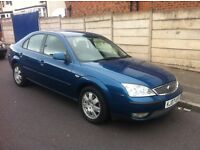 MONDEO ZETEC TDCi, 2007 REG, LONG MOT, 6 SPEED GEARBOX, TOP SPEC WITH ALLOYS, SAT NAV & CLIMATE