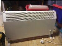 Floor standing electric heater