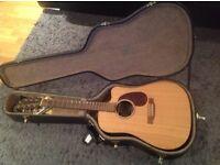 Martin dcx1re guitar