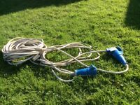 Electric hook up long cable.