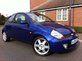 2006 Ford KA 1.6 Sport SE, 3 Door, Full Leather Interior, Service History, Excellent Condition, £800