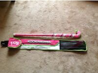 Kookaburra hockey stick and case