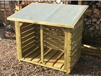 Log stores made to order, heavy duty, made to last, delivery available