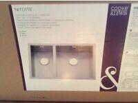 Cooke & Lewis Nitoite kitchen sink