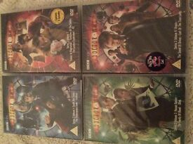 Doctor Who Series 3, vol1-4