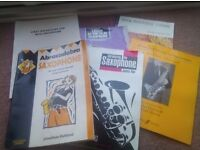 Music Books and Sheet Music for the Saxophone