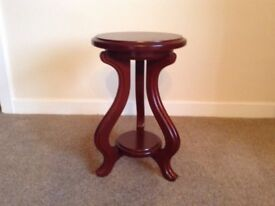 Small Occasional Mahogany Wooden Table