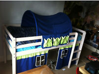 Thuka kids mid sleeper cabin bed. Cost about £350 with mattress. Make me an offer.