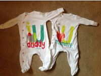 NEXT baby suits