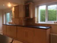 Kitchen Doors and Drawer Fronts with Handles in Maple plus Worktops and Sink!