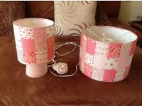 Matching Lightshade and Lamp