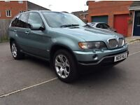 BMW X5 E53 (4X4) 4.4 PETROL AUTO,TV,DVD,SAT NAV,MOT,SERVICE HISTORY,3 OWNER.START & DRIVE GREAT