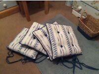 Laura Ashley seat cushions