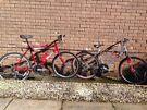 Giant GSR 200 Gents Bike & Apollo Revival Shock Wave X-400 Ladies Bike