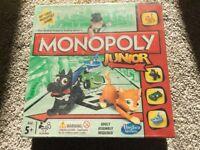 Monopoly junior brand new