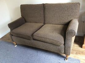 2 seater sofa great re-upholstery project
