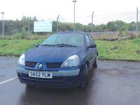 2002 Renault Clio 1.5 Diesel