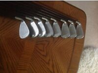 Ladies Callaway Big Bertha Gems 65i Irons with graphite shafts