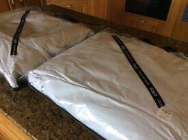 2 band new pillows