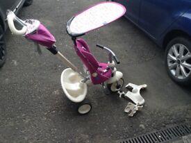 Smart trike, slightly damaged