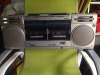 Twin deck cassette recorder