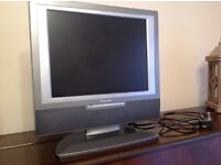 "15"" TV with DVD player"