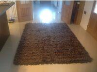Rug - Wool Brown Next large rug