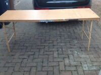 Professional pasting table