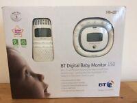 BT 150 digital baby monitor