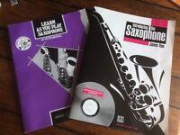 Saxophone Music books for beginners to intermediate