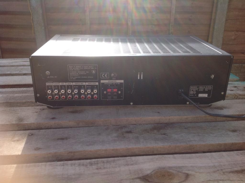 Vintage stereo amp sony