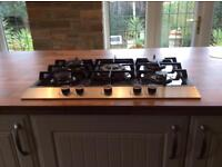 5 Burner Gas Hob - Gas on Glass