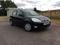 Ford Fiesta 1.4 ghia 2002 02 black