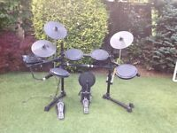 Session Pro DD505 Electronic Drum Kit with sticks