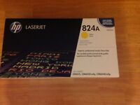 HP 824A Yellow Original LaserJet Toner Cartridge (BNIB Sealed)