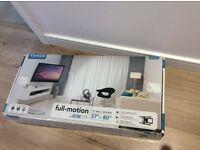 "TV wall mount - full motion- universal bracket upto 80"""""