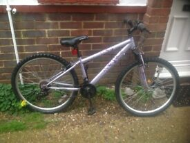 Ladies 18 Speed Mountain Bike