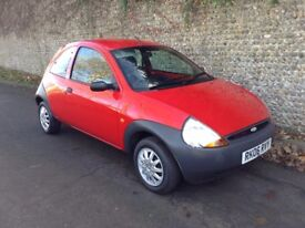 2006 Ford Ka 1.3. One previous owner, ABS, two keys. Power steering. Long MoT.