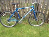 Specialised mountain bike. 19 inch aluiminum frame 26inch wheels £50 ono.