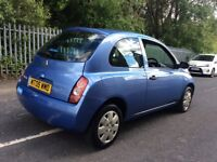 2005 NISSAN MICRA + 10 MONTHS MOT + STARTS AND DRIVES LOVELY!!
