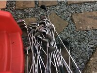 JOB LOT of GOLF CLUBS LOW PRICE TO CLEAR.