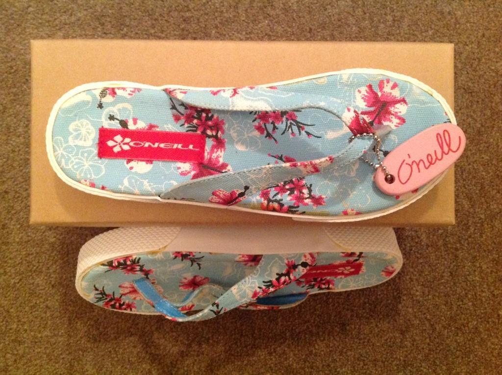 Ladies flip flops by O'Neill size 36