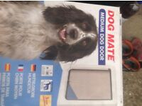 BRAND NEW medium dog door