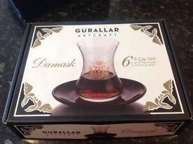 Damask Tea Set