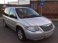 Chrysler voyager 2.8 CRD automatic Executive limited leather 7 seater 2008