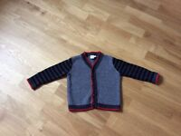 New & nearly new boy's winter jackets/sweaters/pants (18 month - 24 month)